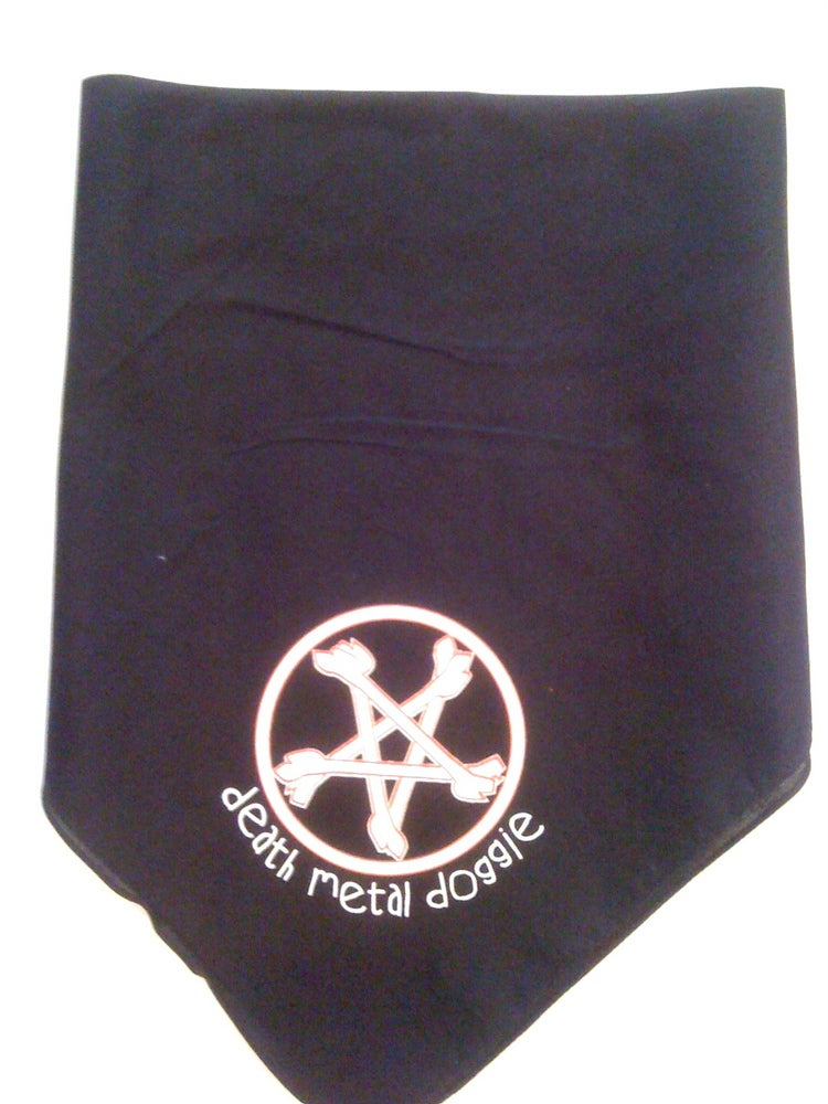 Image of Death Metal Doggie - Bandana