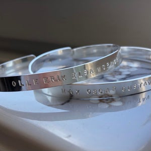 Image of Silver cuff 5 mm