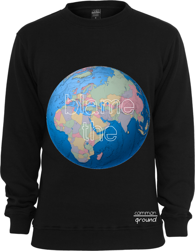Image of Blame the World Crewneck