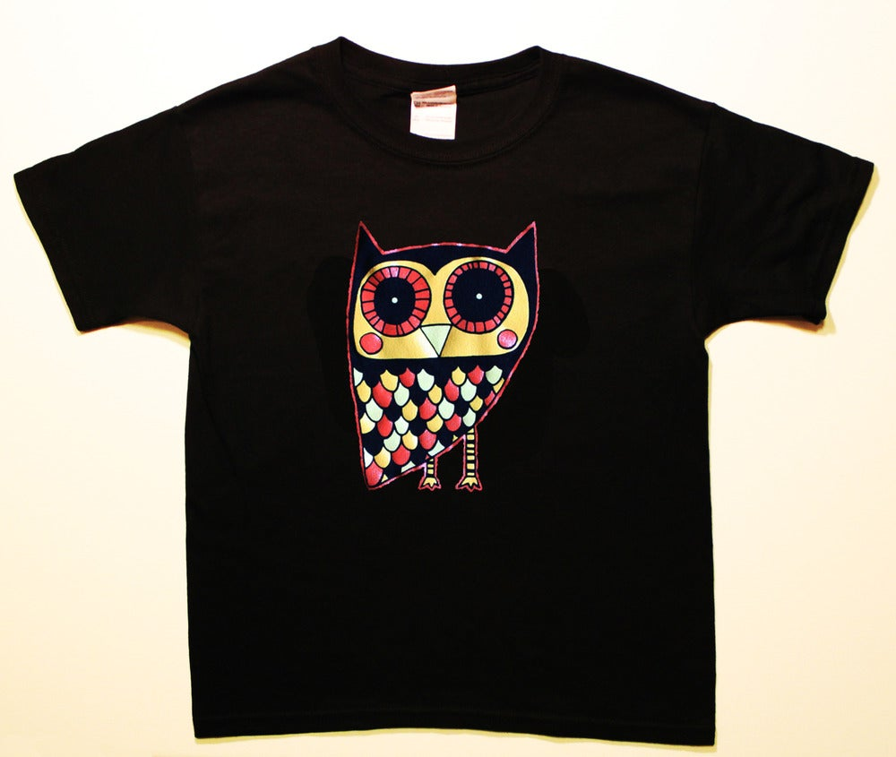 Image of Owl Toddler T-shirt (not many left!)