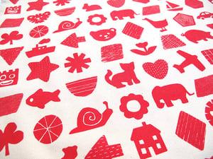 Image of Large Nursery Print Cushion