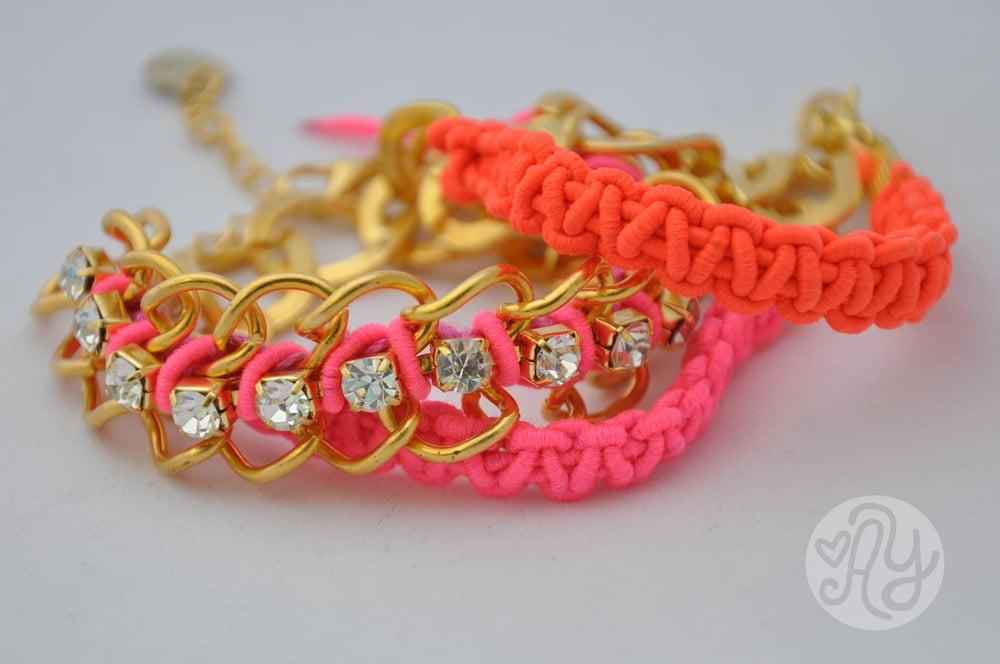Image of Neon Chain bracelet