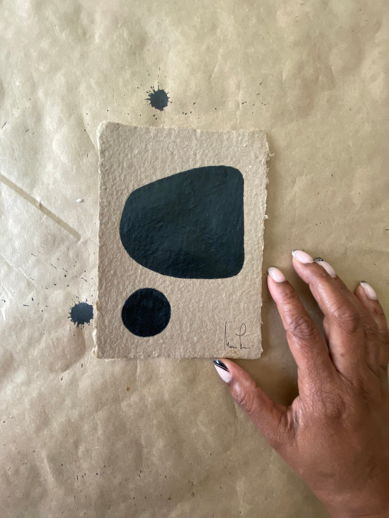 Image of ML• Brown Handmade Paper Collection (3)