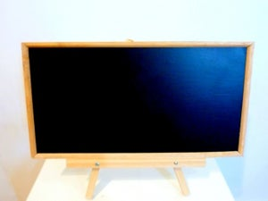tabletop chalkboard with stand set