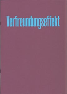 Image of Verfreundungseffekt Vol. 1