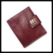 Image of Vintage Givenchy Oxblood Leather Wallet