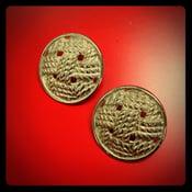 Image of Vintage Round Rope Earrings