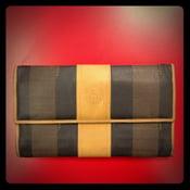 Image of Fendi stripe wallet
