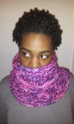Image of Sho Nuff Infinity Scarf - Wildberry Tweed