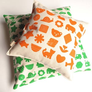 Image of Shapes and Things Nursery Cushion