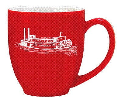 Image of Red Congregation Mug