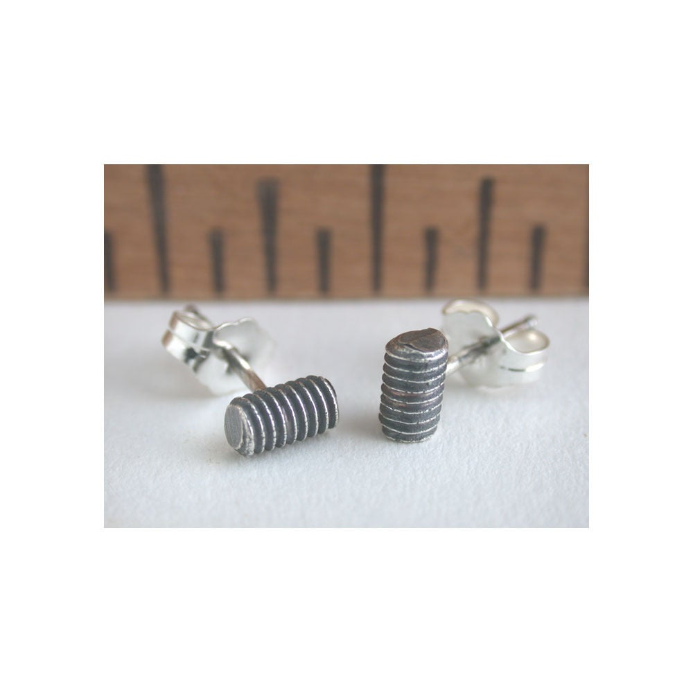 Image of threads earrings
