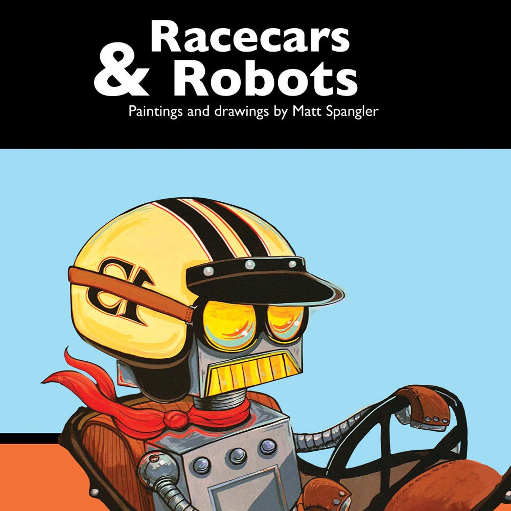 Image of Racecars and Robots: The Book