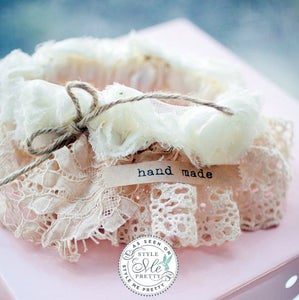 Image of Vintage Lace Wedding Garter