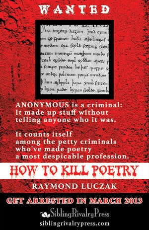 Image of How to Kill Poetry by Raymond Luczak