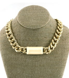 Image of Name ID Link Necklace