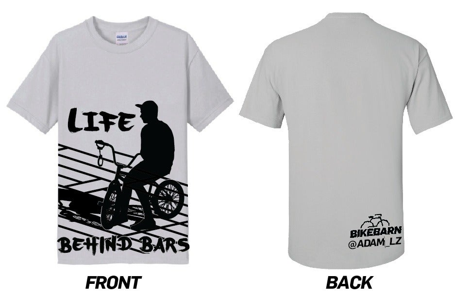 Wallingford Bike Barn Life Behind Bars T Shirt