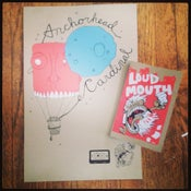 Image of Anchorhead/Cardinal Split Poster w/ Songs and Loud Mouth Magazine Issue II