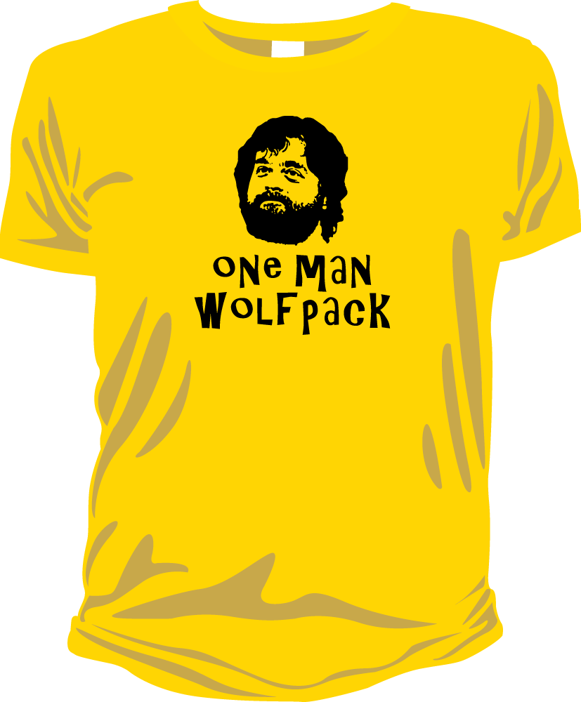 Image of One Man Wolf Pack (Hangover)