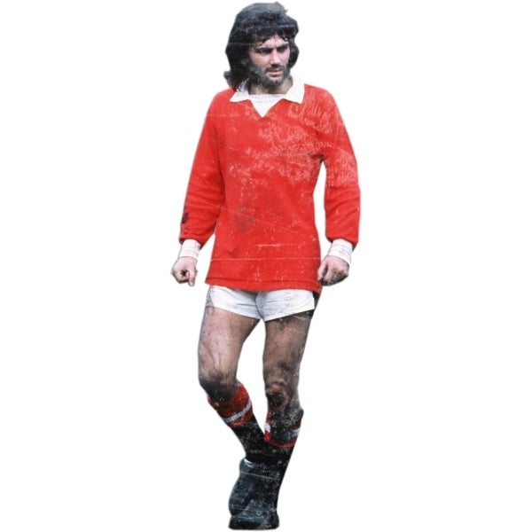 Image of GEORGE BEST (white)