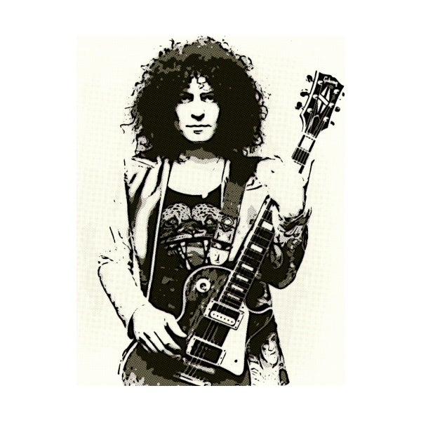Image of MARC BOLAN (white)