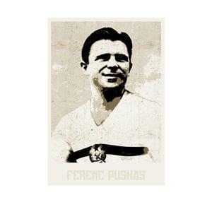 Image of FERENC PUSKAS (white)
