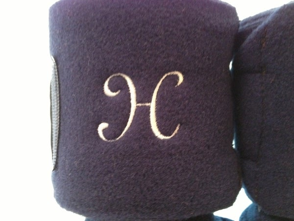 Image of Monogrammed Polo Wraps