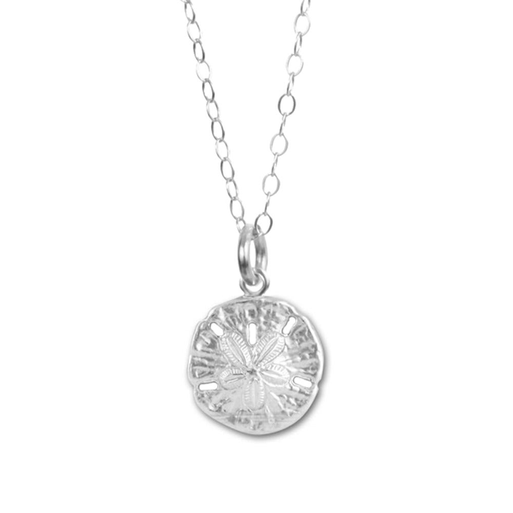 jsp hei sterling silver wid op necklace pendant sharpen prd sand dollar product