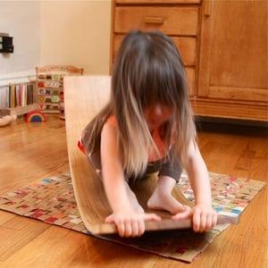Image of Solid Wood Rockerboard™ Waldorf Wooden Balance Board