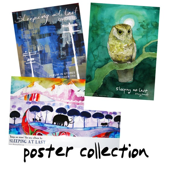 Image of 3 Poster Collection