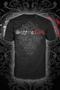 Image of Unisex Stiletto Red Logo T-shirt