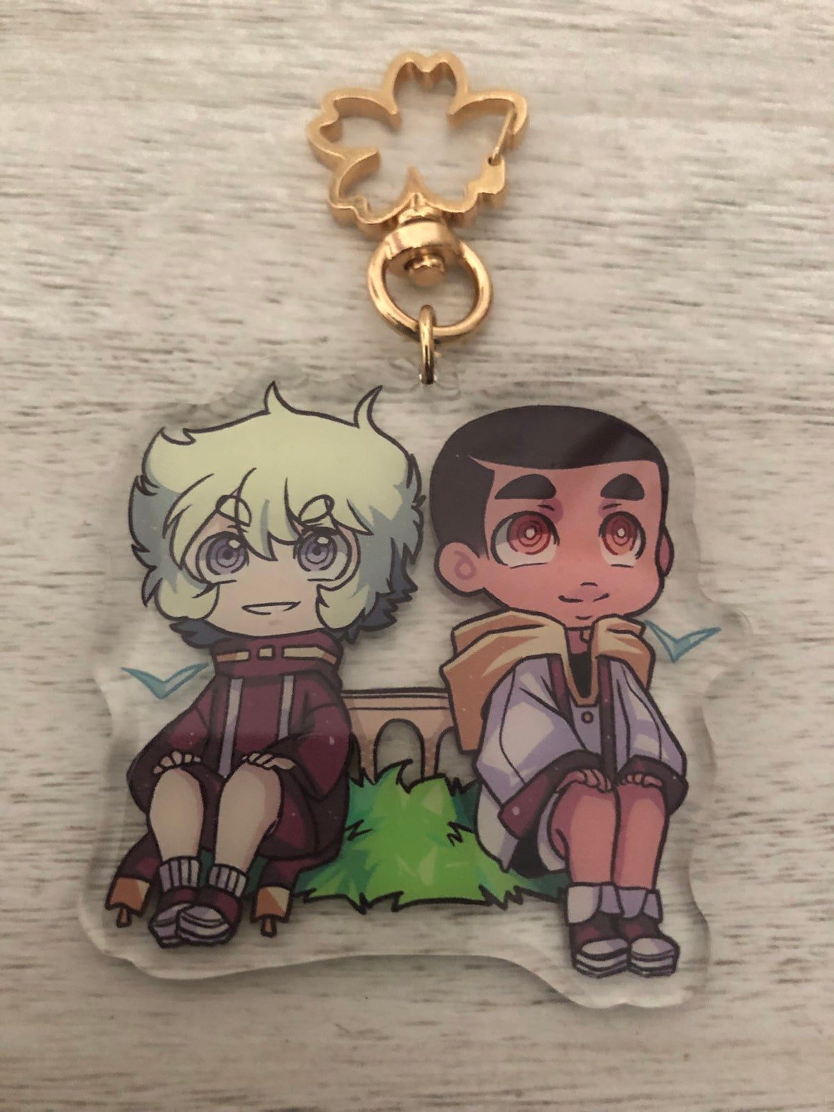 Seeds of Doubt CHARM KEYCHAIN
