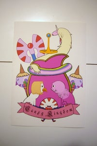 Image of Candy Kingdom Heraldic Shield