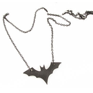 Image of Black Bat Necklace