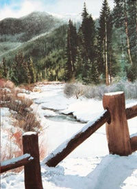 Image of River Run Notecard