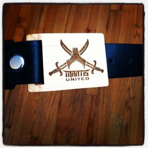Image of Mantis Pirate Flag belt buckle