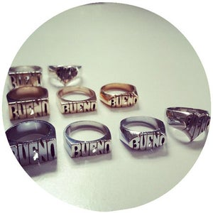 Image of SILVER CUSTOM ID RING
