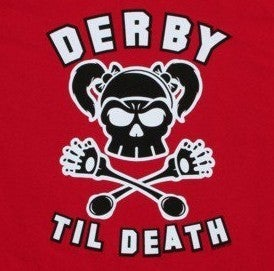Image of Derby Til Death - Ladies - Red