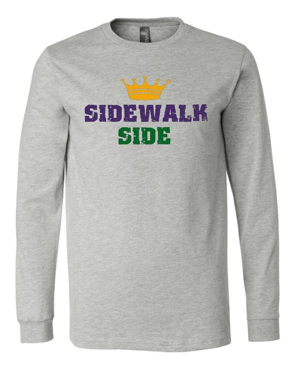 """Image of """"Sidewalk Side"""" Long Sleeve Tee"""