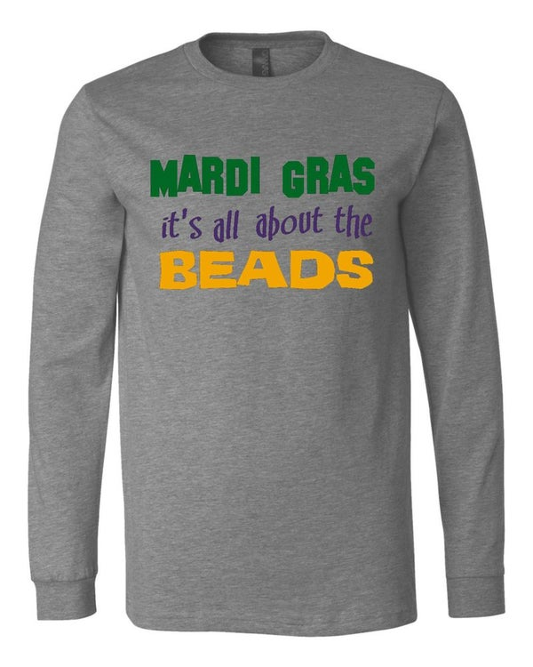 "Image of ""All About The Beads"" Long Sleeve Tee"