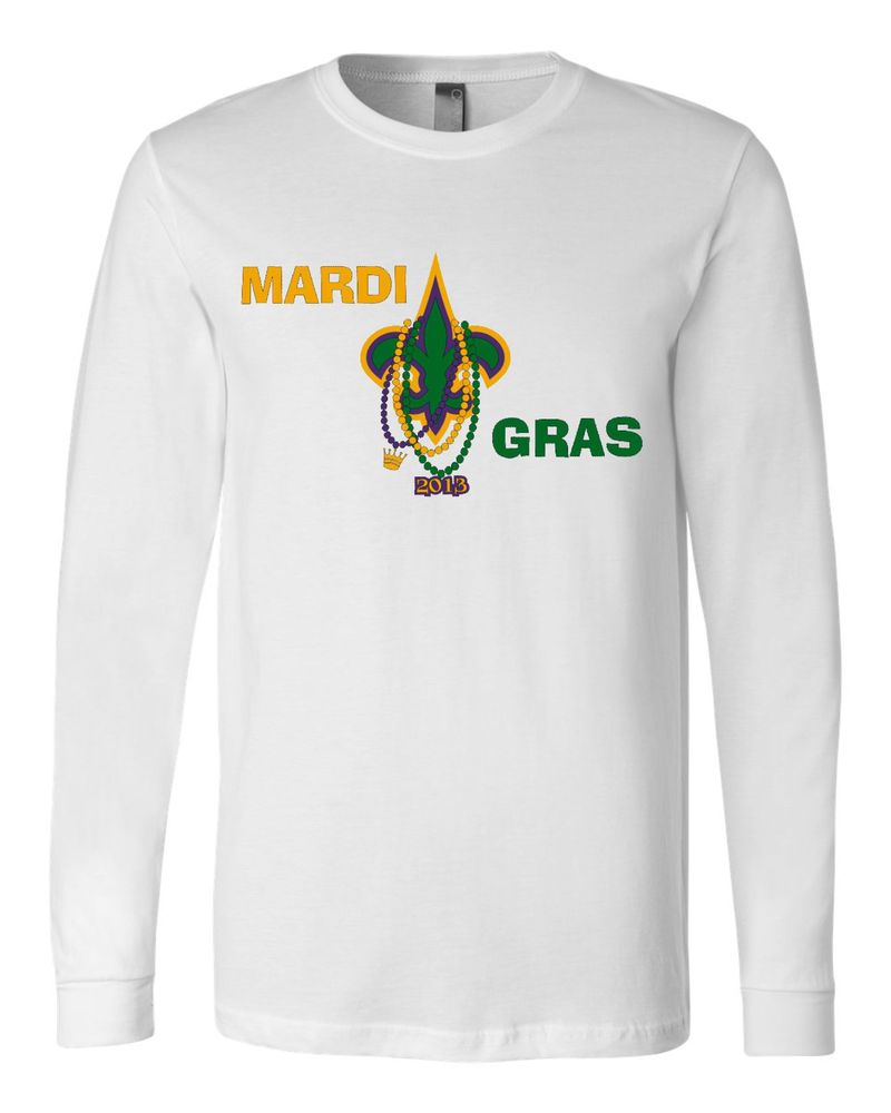 Image of Mardi Gras Long Sleeve Tee