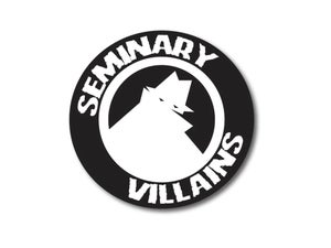 Image of Seminary Villains Neighborhood Watch Sticker
