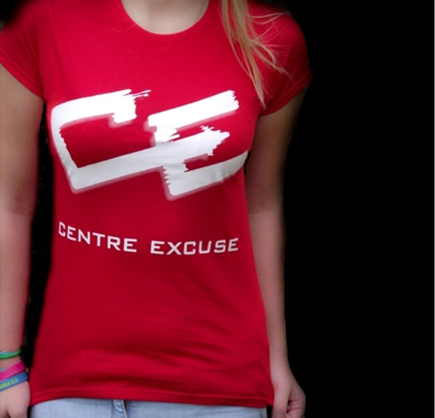 Image of Centre Excuse Ladies Slim Fit T-Shirt