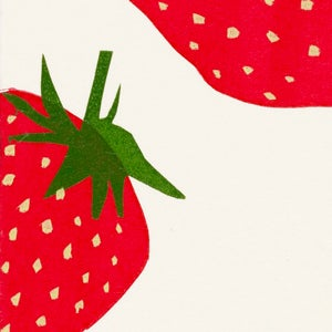 Image of Strawberries Card