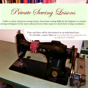 Image of Sewing Lessons and Consultations