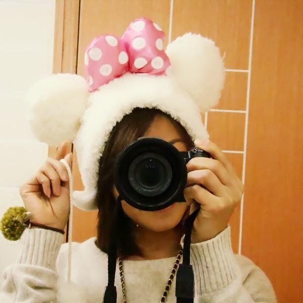 Image of Minnie Mouse Disney Winter Snow Hat Kawaii Harajuku Lolita Snow b843effec28