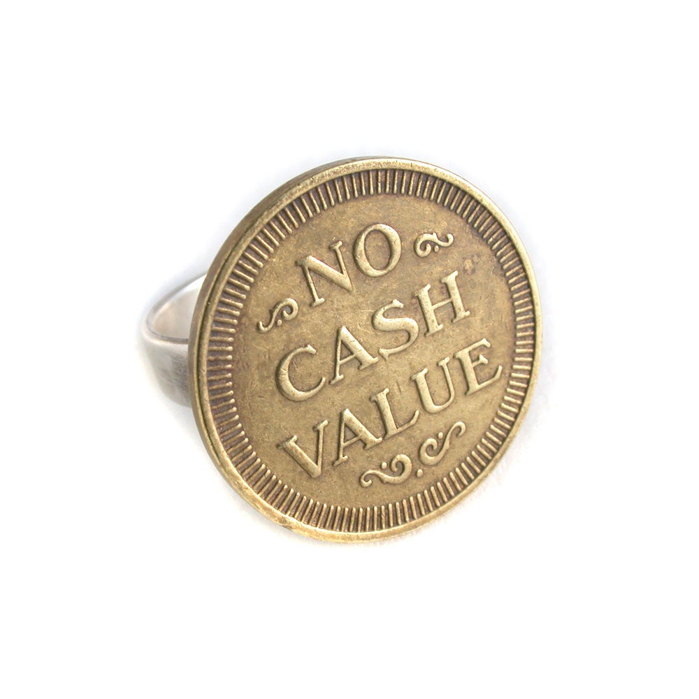 Image of no cash value ring