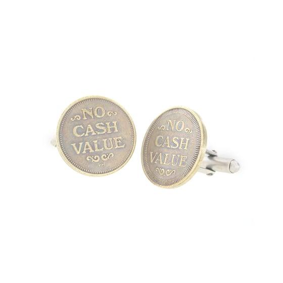 Image of no cash value cufflinks