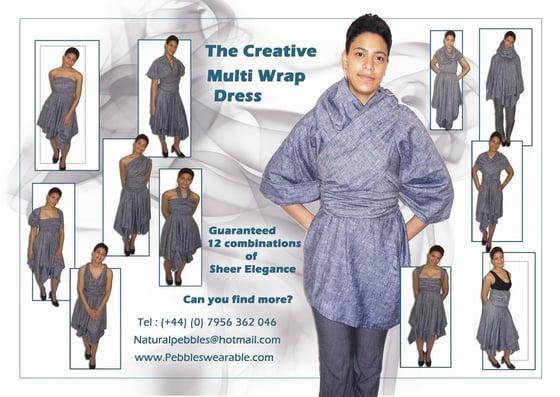 Image of Linen Multi-Wrap Dress