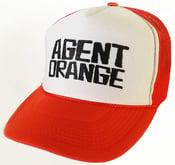 Image of Skate Punk Trucker Hat - ORANGE